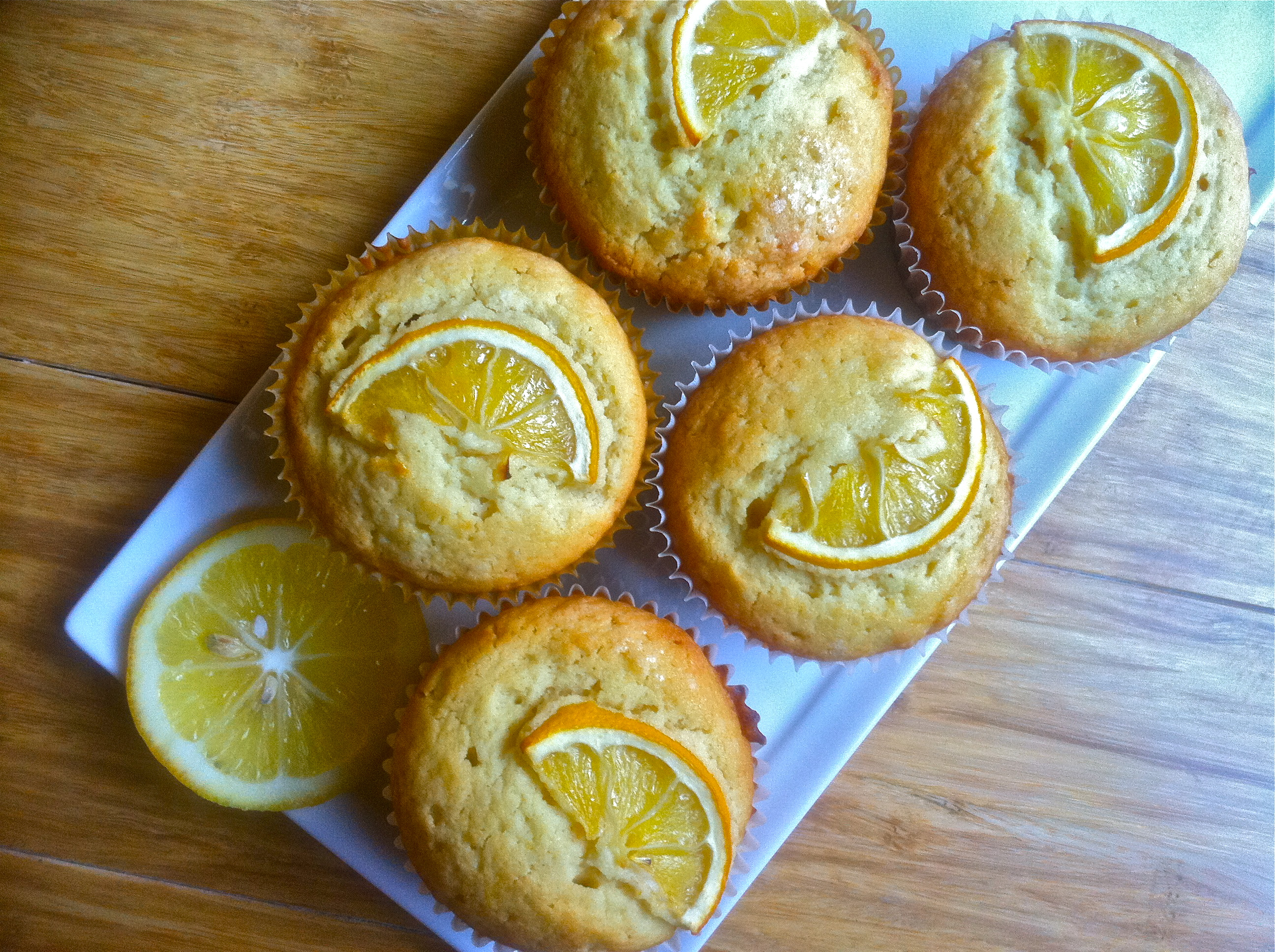 Muffin Monday | Meyer Lemon Pound Cake Muffins | Let Me Eat Cake
