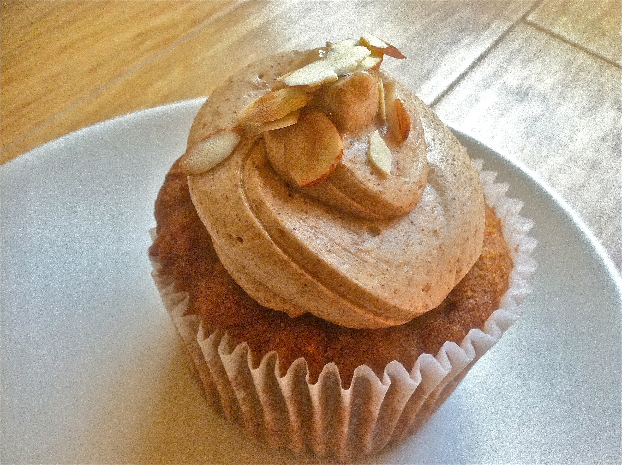 Muffin Mondays | Carrot Muffins with Graham Frosting | Let Me Eat Cake