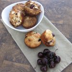 Muffin Mondays | Cherry Sour Cream Muffins