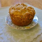 Muffin Mondays | Pear Cardamom Coffee Cake Muffins