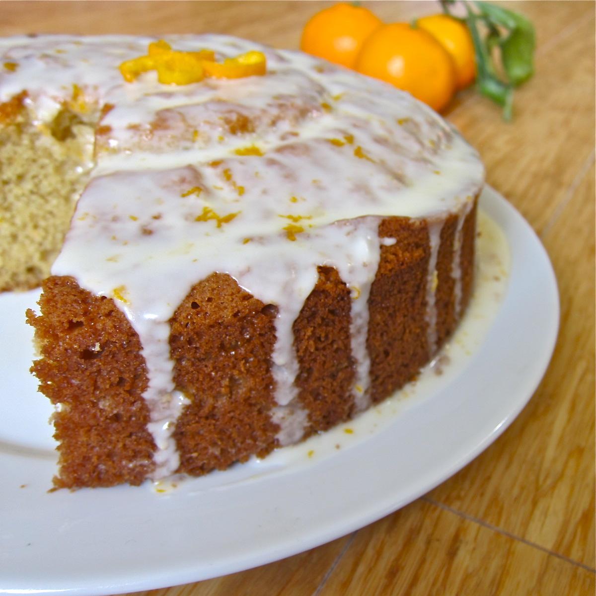 Orange Sour Cream Cake | Let Me Eat Cake