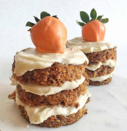 Mini Carrot Cakes