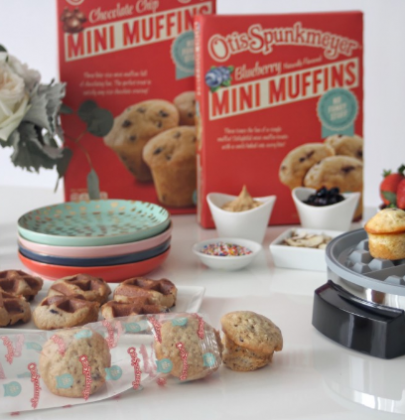 Otis Spunkmeyer Mini Muffin Waffle Bar