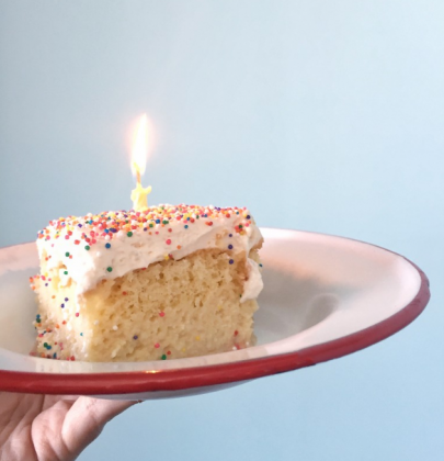 Sweet of the Week | Tres Leches Birthday Cake Trois Familia