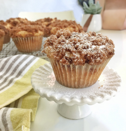 The Perfect Coffee Cake Muffins
