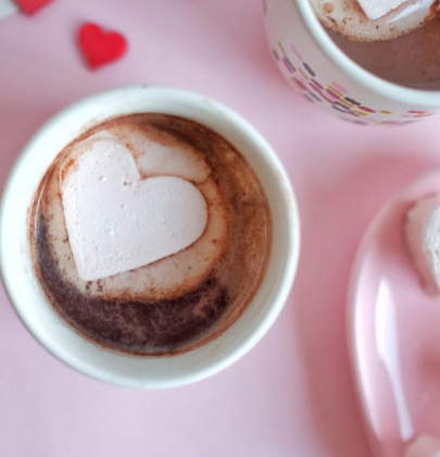 Hot Chocolate For the Best Valentine's Day Ever!
