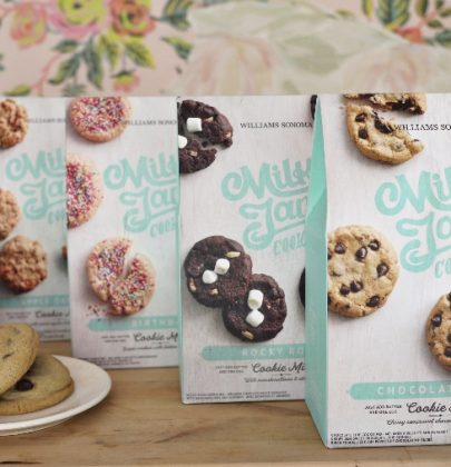 Sweet News | Milk Jar Cookie Mixes Available at Williams Sonoma
